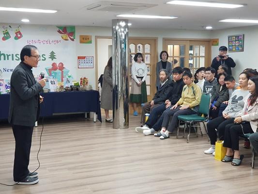 한우리장애인주간보호센터 송년잔치 03