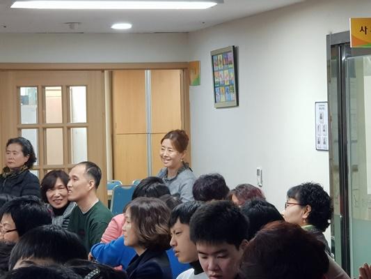 한우리장애인주간보호센터 송년잔치 10
