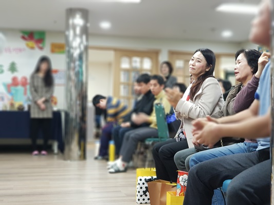 한우리장애인주간보호센터 송년잔치 12