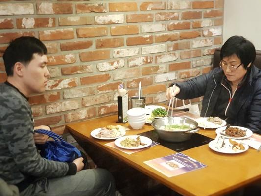 한우리장애인주간보호센터 송년잔치 23