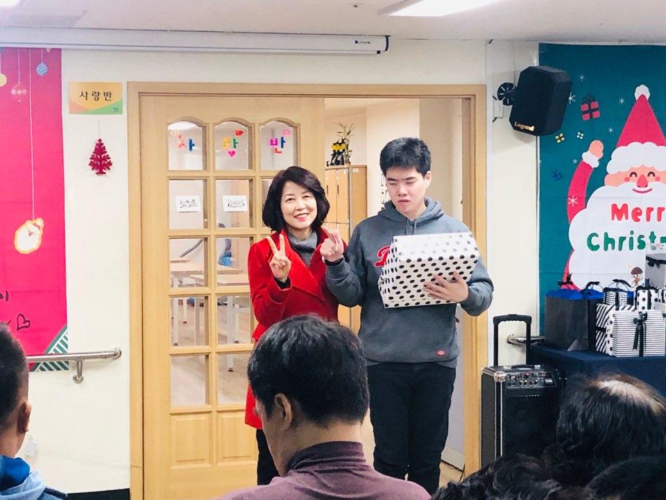 한우리장애인주간보호센터 송년잔치 19